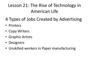 4 Types of Jobs Created by Advertising