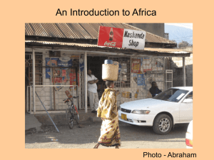 Language in Africa