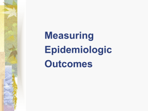 Principles of Epidemiology CORE 5520 (32:832:520)