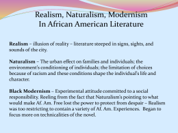 what is realism in american literature