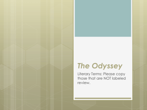 The Odyssey - Plain Local Schools