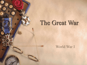 Chapter 27 - The Great War
