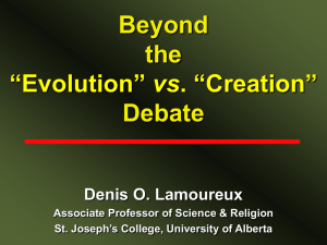 Evolution - University of Alberta
