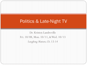 Late-Night TV, Ch. 13-14