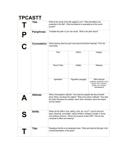 poetry analysis essay graphic organizer we real cool