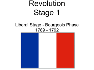 Ch. 20 French Revolution Stage 1