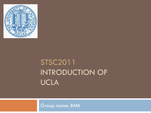 UCLA - Computer Science