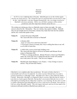 macbeth final exam This macbeth exam is composed of seventy-five questions written by lincoln west high school students based upon their reading of a parallel text version of shakespeare's tragedy macbeth.