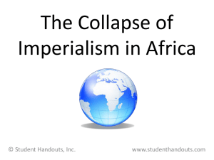 collapse of imperialism in africa