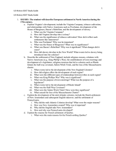 Eoct Reviewus History