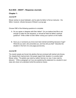 Conclusion for Night essay on dehumanization. Help?