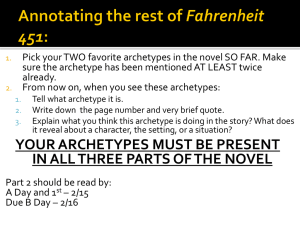 Annotating the rest of Fahrenheit 451: