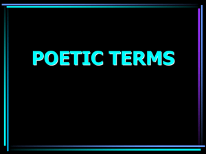 poetic terms 2