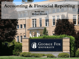 BUSG 503 wk01-02 - Financial Accounting for MBAs