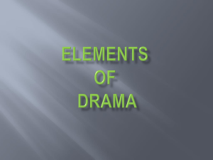 elements of drama - ridgelandenglish3