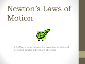 Newtons Law - Henry County Schools