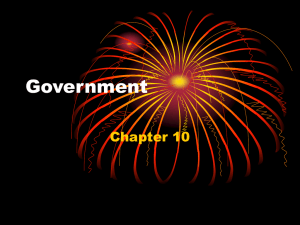 Government - Vincent WillowCreek History