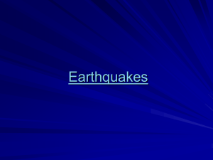 EarthquakesBC