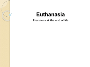 Euthanasia - Routledge