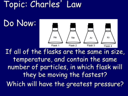 charles' law and gay lussac's law Discovered by joseph louis gay-lussac in the early 1800's that is pretty much all the chemteam knows gay-lussac's law is a direct mathematical relationship.