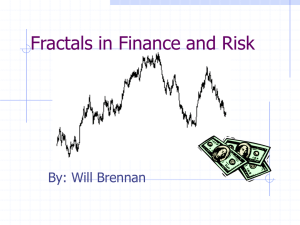 Fractals in Finance and Risk