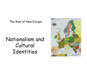 Nationalism and Cultural Landscapes
