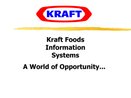 Kraft Foods - Indiana University