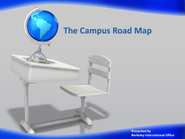 Campus Road Map for Transfers [ppt]