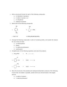 Write a structural formula for each of the following compounds: 2,3