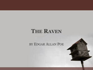 The Raven by Edgar Allan Poe PPT