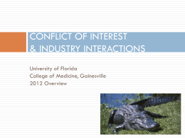 Conflict of interest management plan template conflict of interest university of florida pronofoot35fo Images