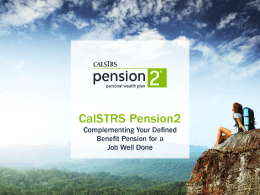 CalSTRS Pension 2