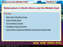 31.3 Nationalism in the Middle East and North Africa