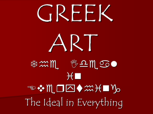greek art - Schoolhistory.co.nz