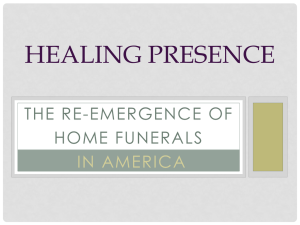 Healing Presence Option 1 - National Home Funeral Alliance