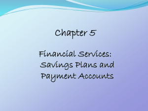 Banks and Banking Chapter 5