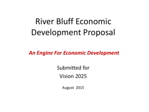 River Bluff Economic Development Proposal