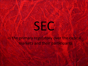 Function and Role of SEC