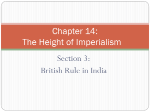 Chapter 14: The Height of Imperialism