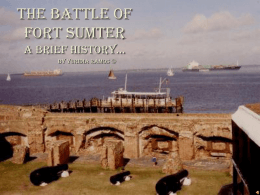 Fort Sumter - Teacher Pages