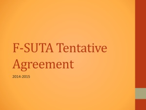 Power Point of Tentative Contract Agreement {PPTX format}