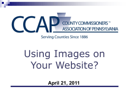 Using Images on Your Website?