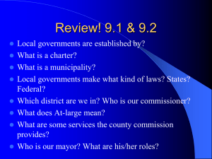 9.3 City Government - Leon County Schools