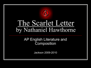 The Scarlet Letter by Nathaniel Hawthorne - Mr-Jackson-AP