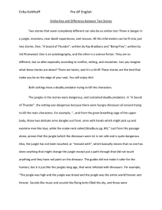 essay on a sound of thunder