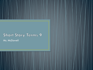 Short Story Terms 9