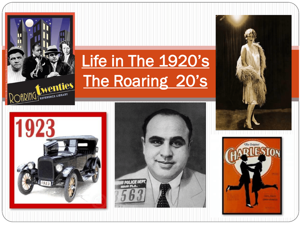 a study of the roaring twenties