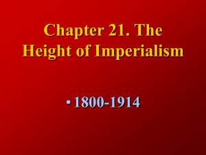 Chapter 27. The Age of Imperialism