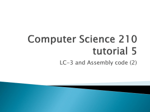 Computer Science 210 tutorial 1 - Department of Computer Science