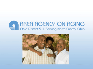 ADRN Power Point Document - Ohio Area Agency on Aging